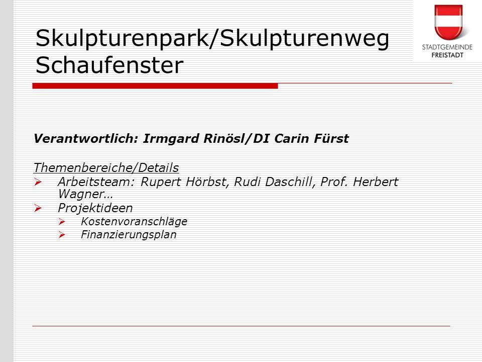 Skulpturenpark/Skulpturenweg Schaufenster