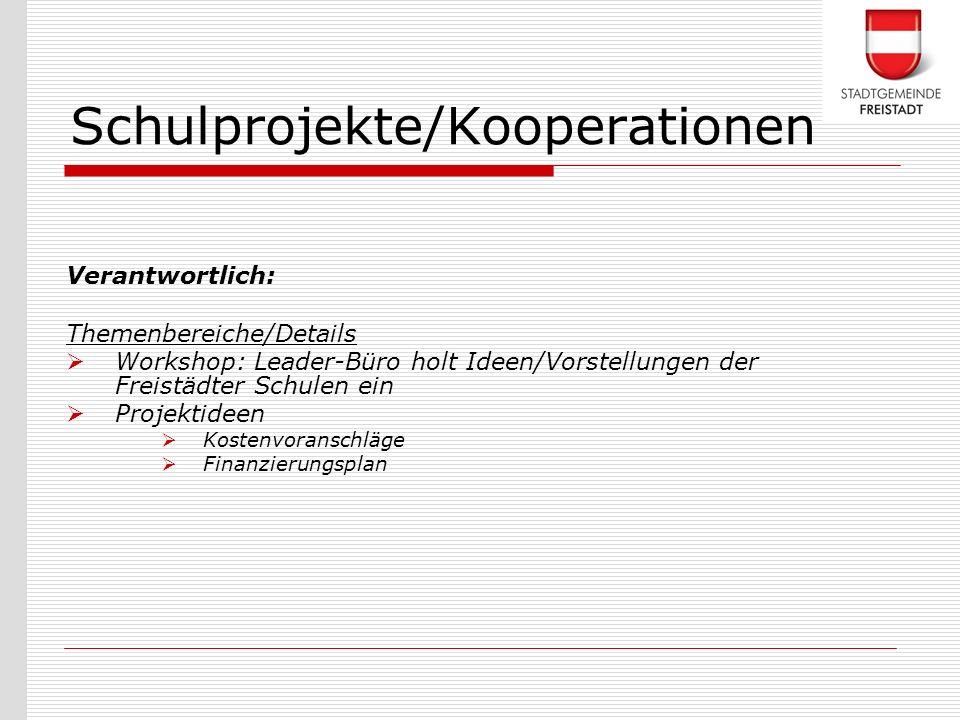 Schulprojekte/Kooperationen