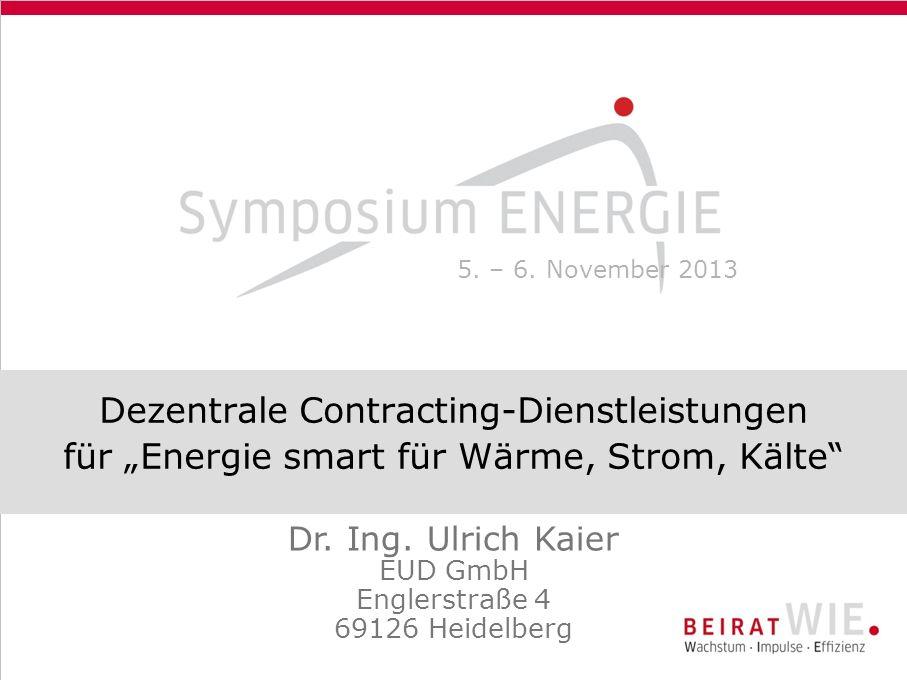 Dr. Ing. Ulrich Kaier EUD GmbH