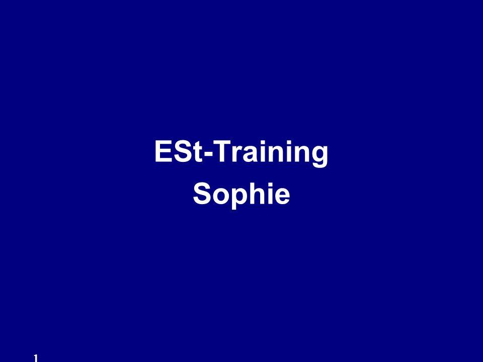 ESt-Training Sophie