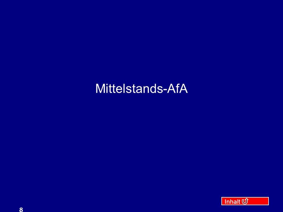 Mittelstands-AfA