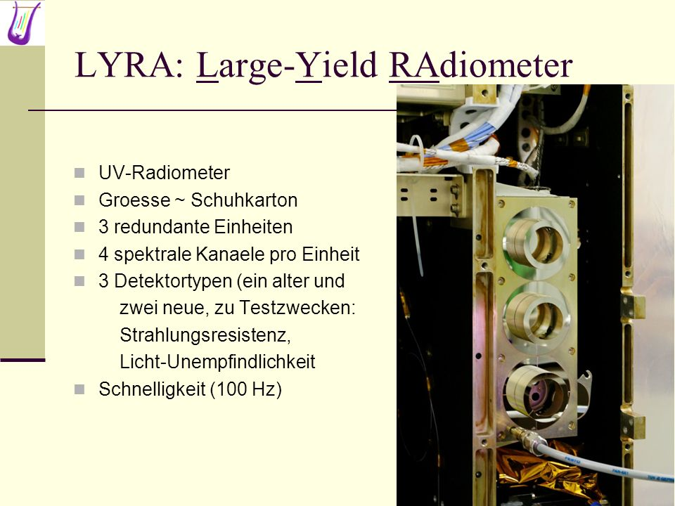 LYRA: Large-Yield RAdiometer