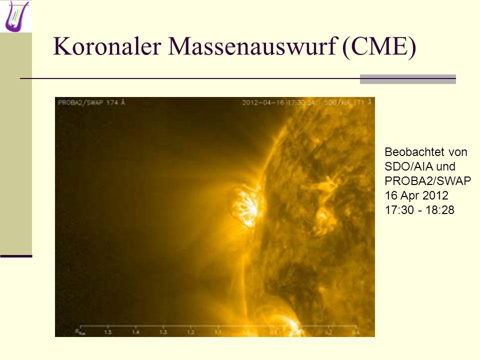 Koronaler Massenauswurf (CME)