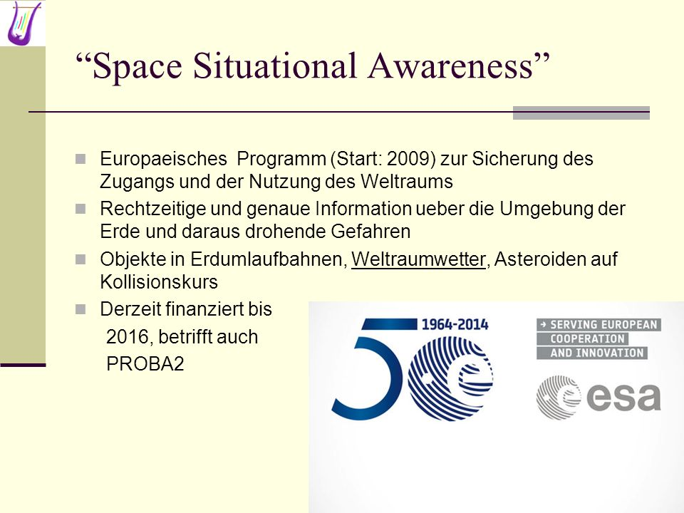 Space Situational Awareness