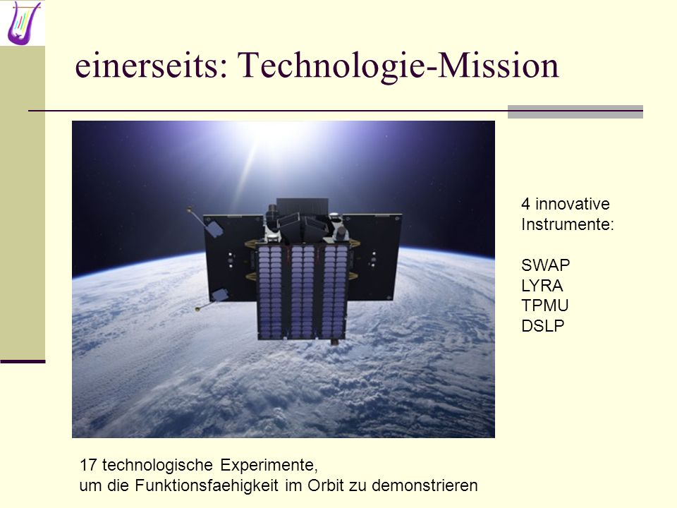 einerseits: Technologie-Mission