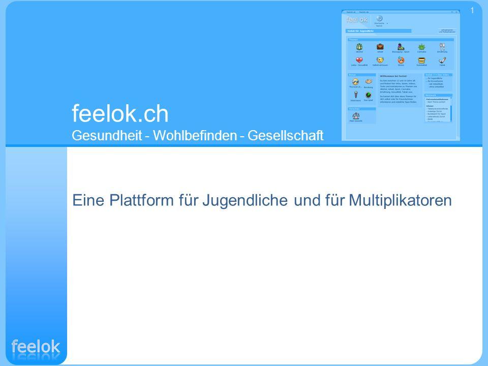 feelok.ch Gesundheit - Wohlbefinden - Gesellschaft