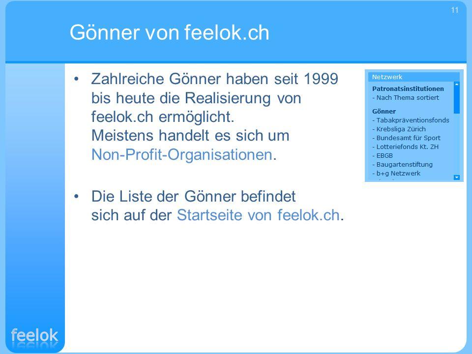Gönner von feelok.ch 11.