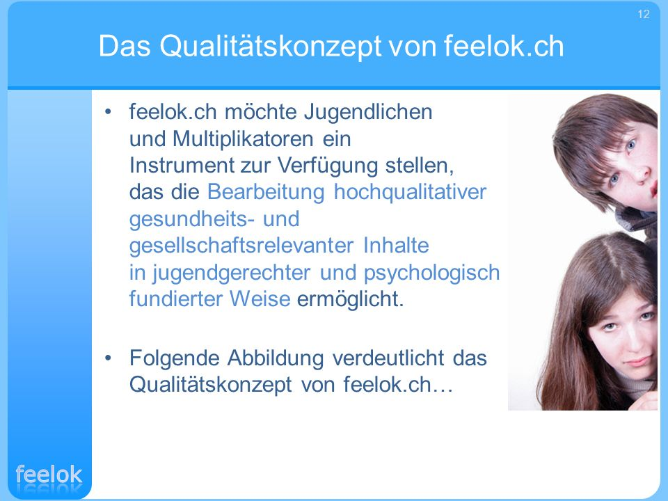 Das Qualitätskonzept von feelok.ch