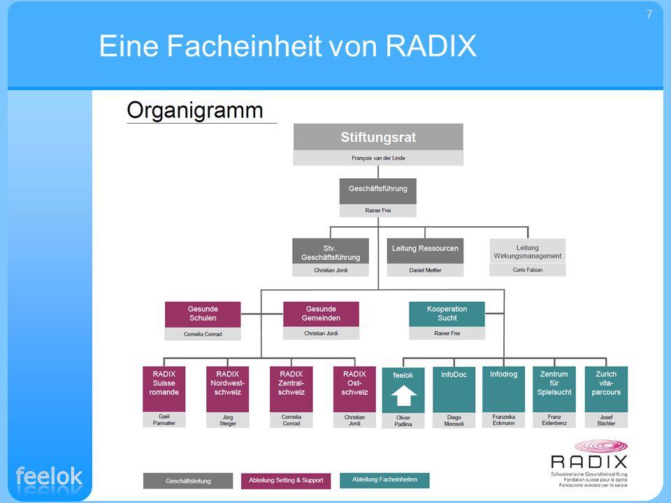 Eine Facheinheit von RADIX