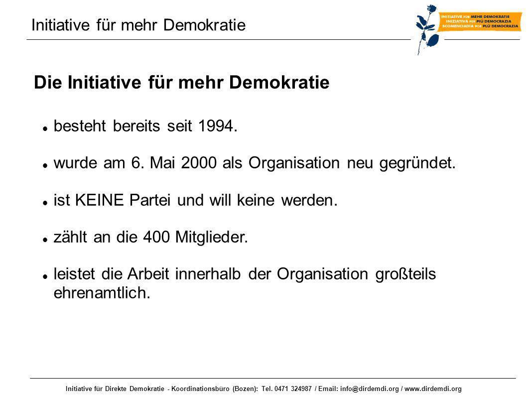 Initiative für mehr Demokratie