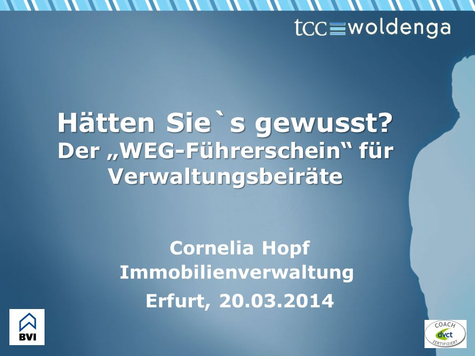 Cornelia Hopf Immobilienverwaltung