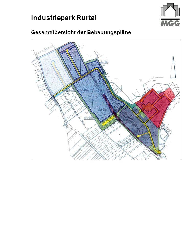 Industriepark Rurtal Gesamtübersicht der Bebauungspläne