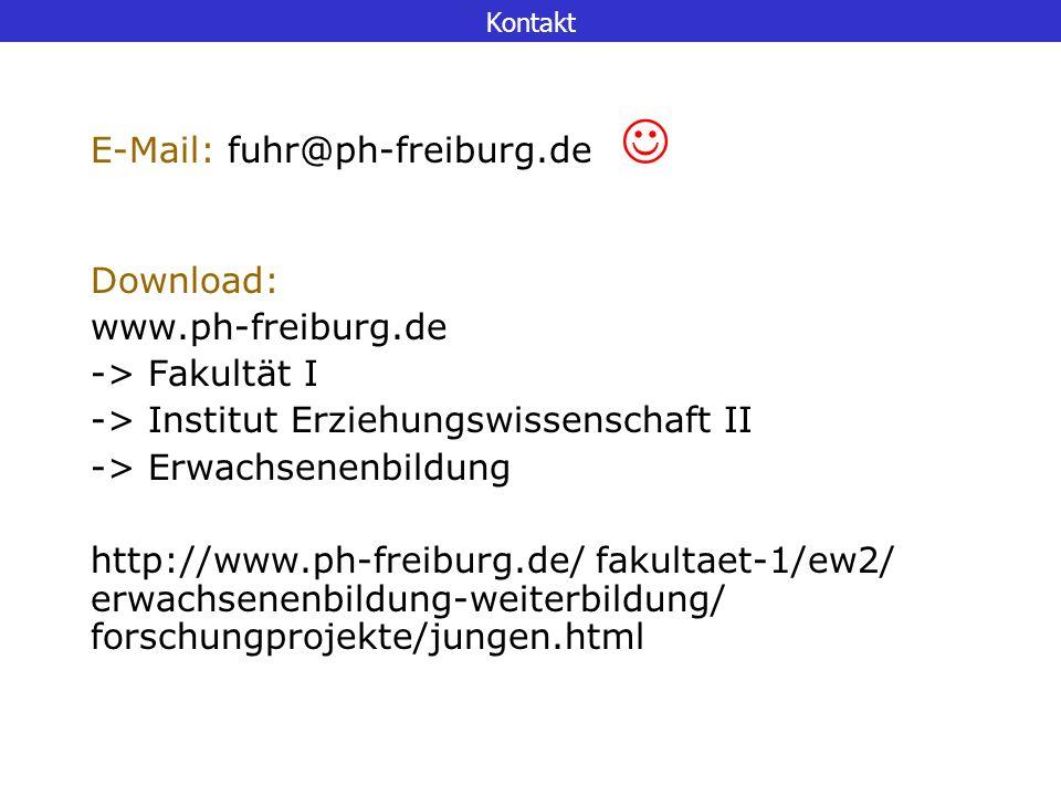 E-Mail: fuhr@ph-freiburg.de 