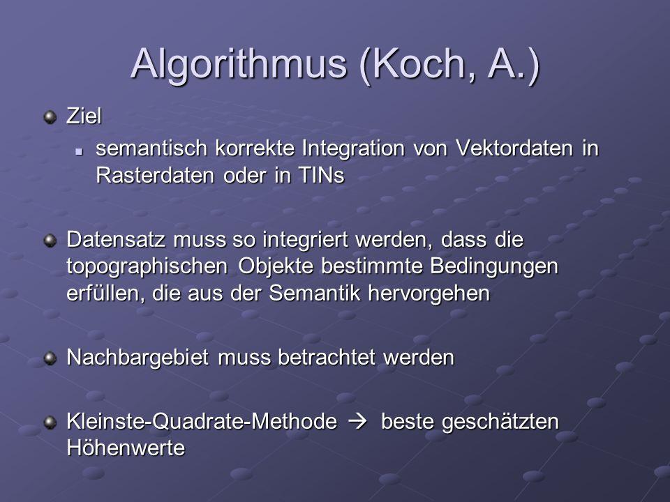 Algorithmus (Koch, A.) Ziel