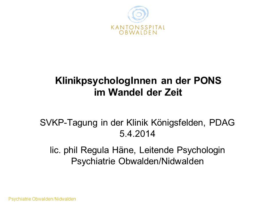 Kantonsspital Obwalden mit PONS