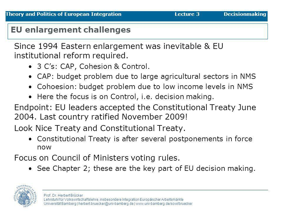 EU enlargement challenges
