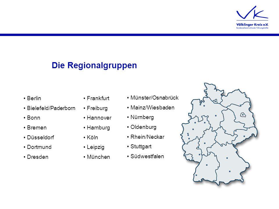 Die Regionalgruppen Berlin Bielefeld/Paderborn Bonn Bremen Düsseldorf