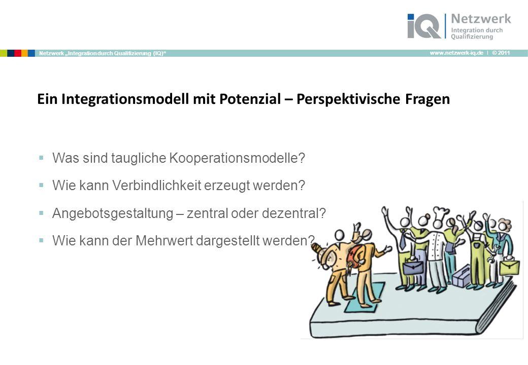 Ein Integrationsmodell mit Potenzial – Perspektivische Fragen