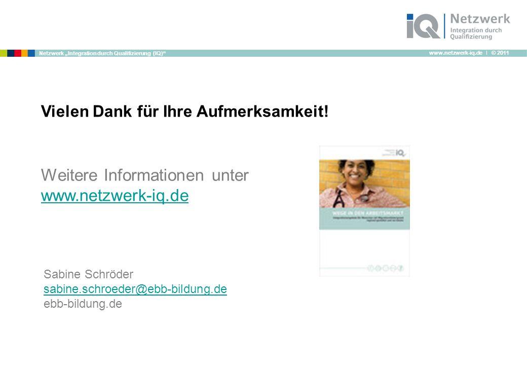 Weitere Informationen unter www.netzwerk-iq.de