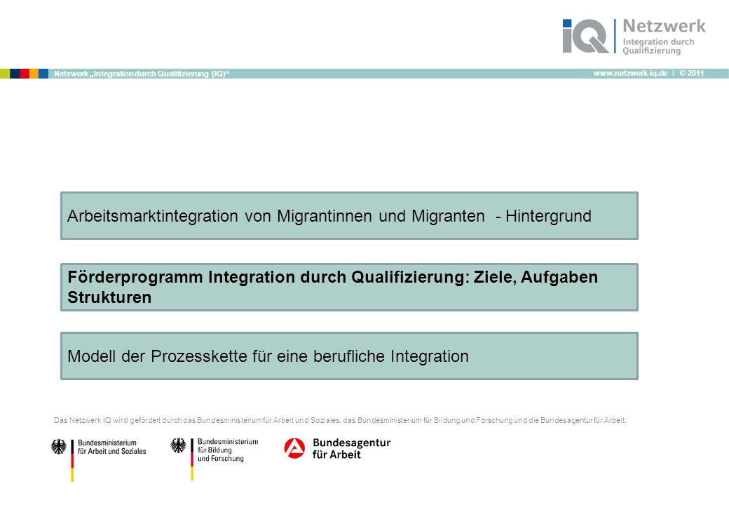 Arbeitsmarktintegration von Migrantinnen und Migranten - Hintergrund
