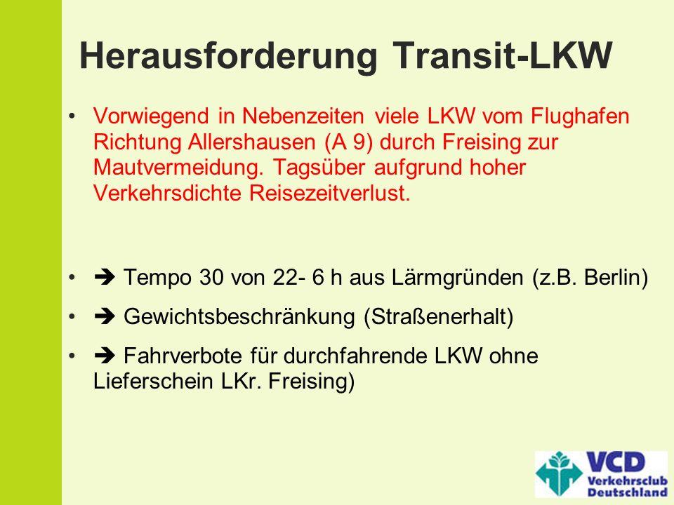 Herausforderung Transit-LKW