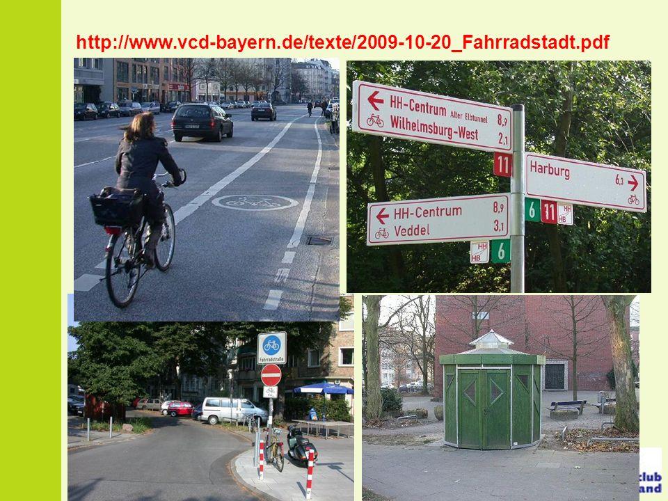 http://www.vcd-bayern.de/texte/2009-10-20_Fahrradstadt.pdf