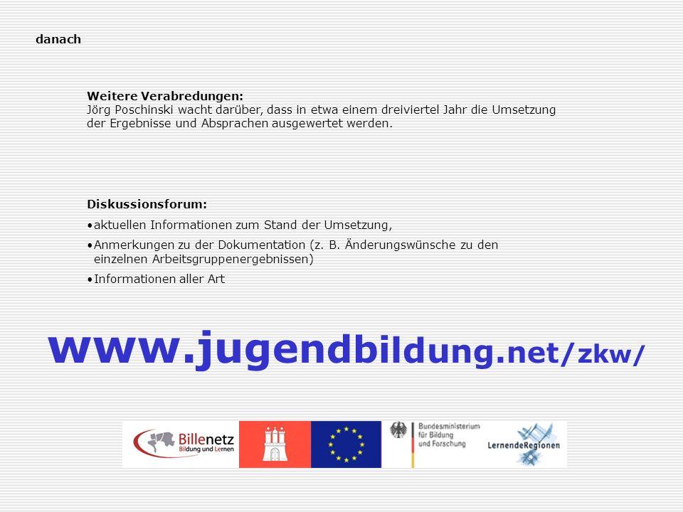 www.jugendbildung.net/zkw/ www.jugendbildung.net/zkw/ danach