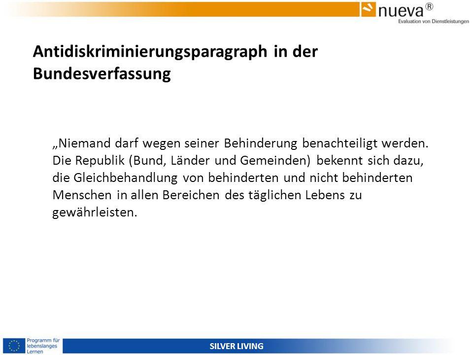 Antidiskriminierungsparagraph in der Bundesverfassung