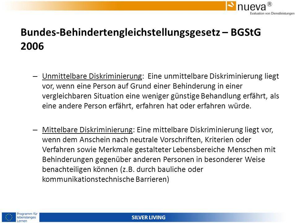 Bundes-Behindertengleichstellungsgesetz – BGStG 2006