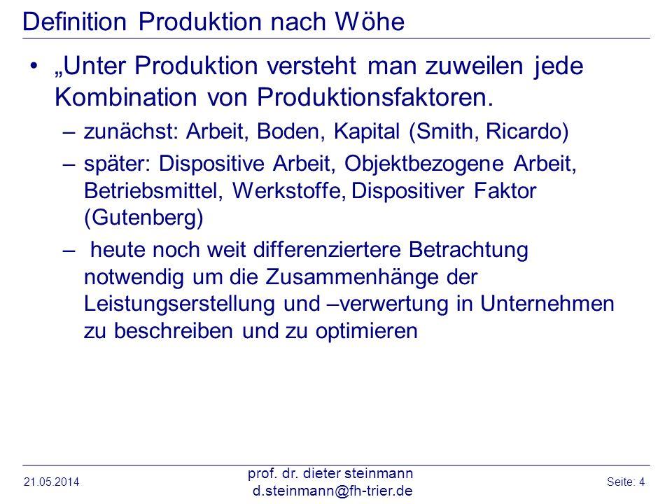 Logistik material und produktionswirtschaft ppt for Definition von boden
