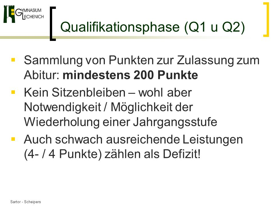 Qualifikationsphase (Q1 u Q2)