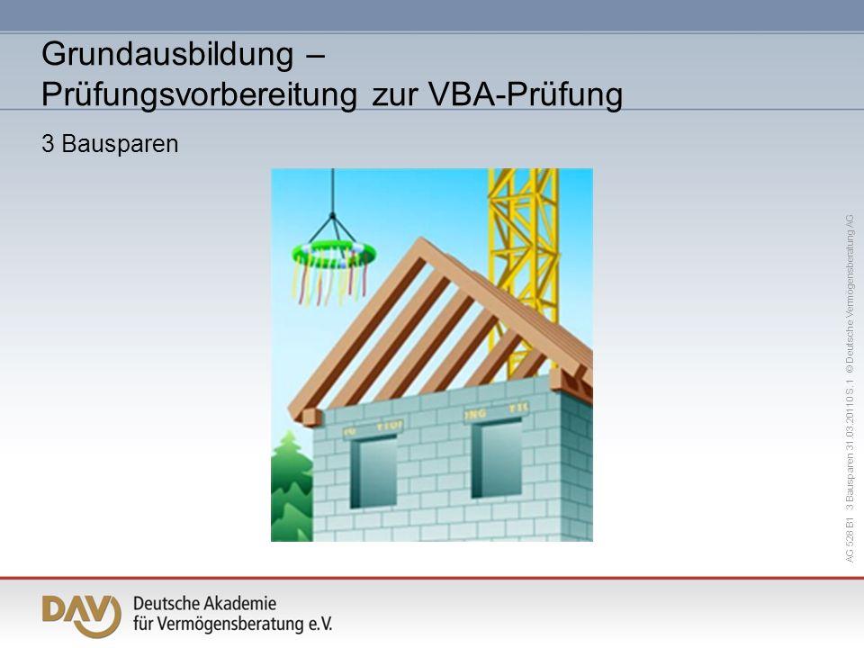 Grundausbildung – Prüfungsvorbereitung zur VBA-Prüfung