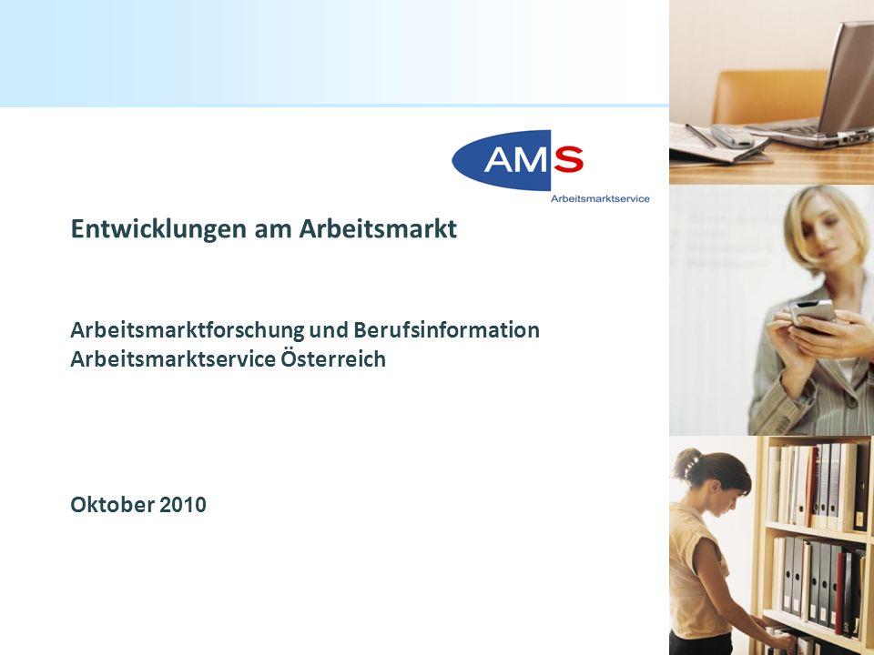 Entwicklungen am Arbeitsmarkt