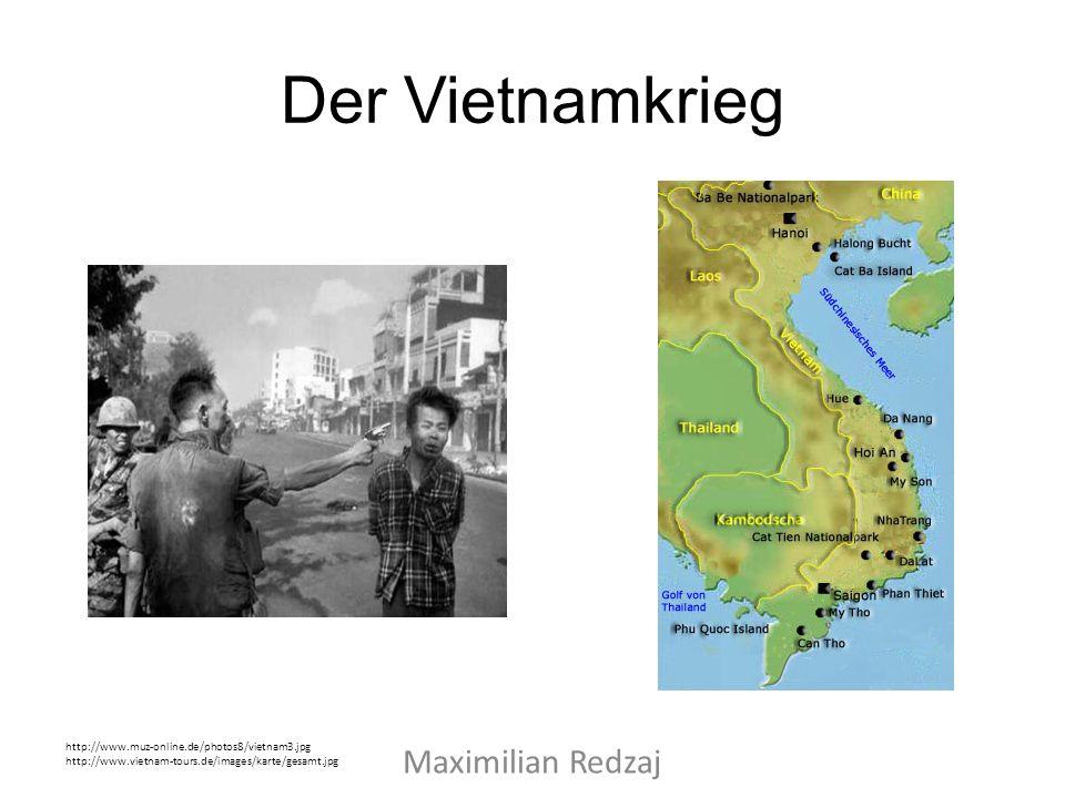 Der Vietnamkrieg Maximilian Redzaj