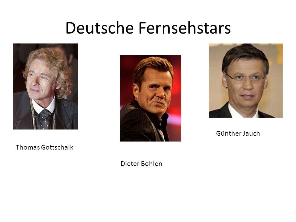 Deutsche Fernsehstars