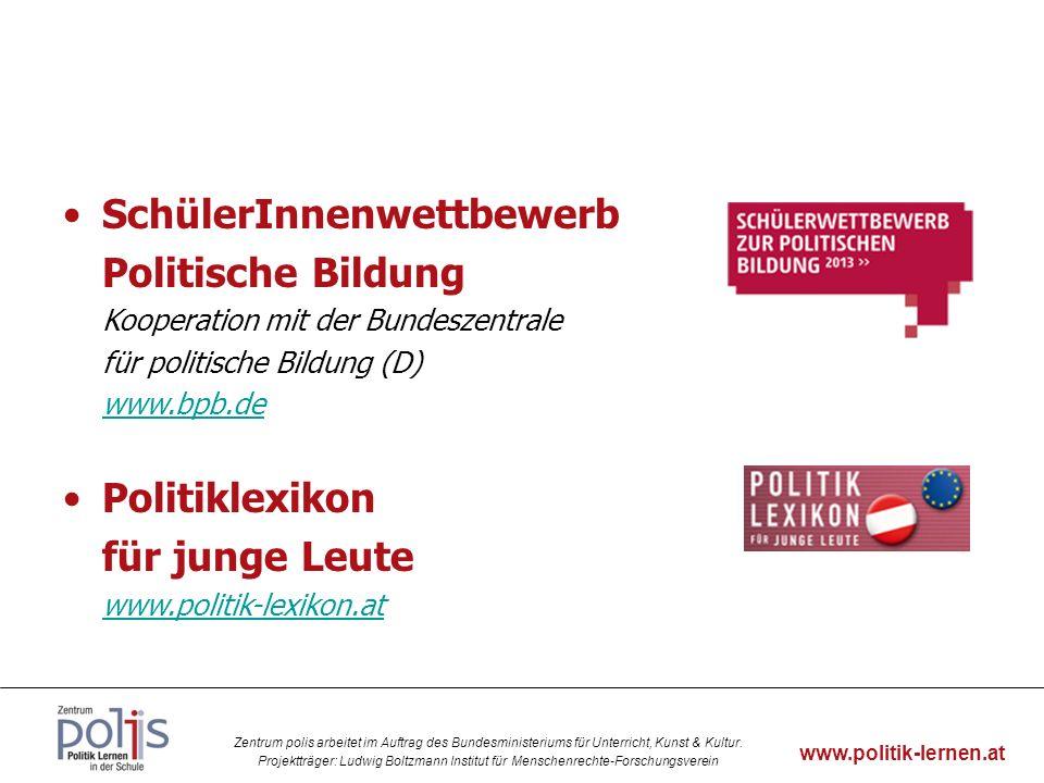 SchülerInnenwettbewerb Politische Bildung