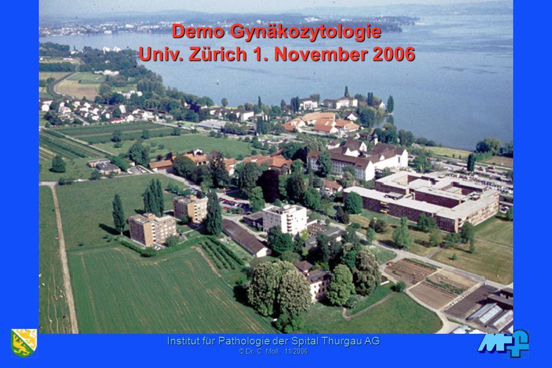 Demo Gynäkozytologie Univ. Zürich 1. November 2006