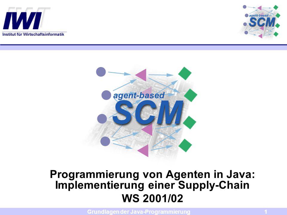 Programmierung von Agenten in Java: Implementierung einer Supply-Chain