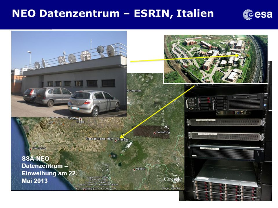 NEO Datenzentrum – ESRIN, Italien