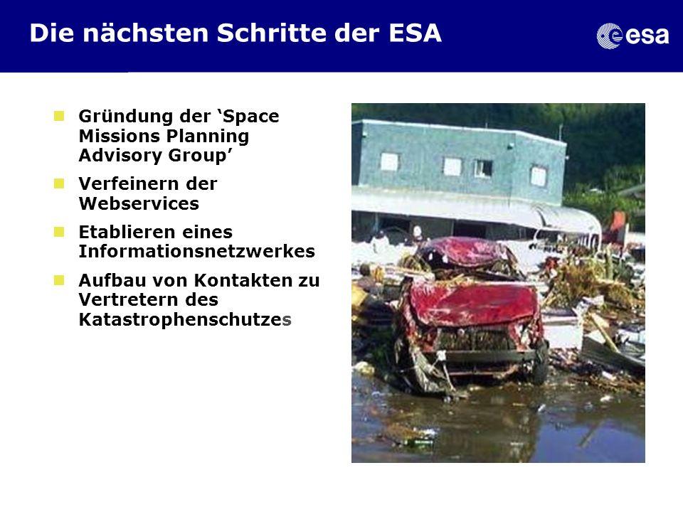 Die nächsten Schritte der ESA