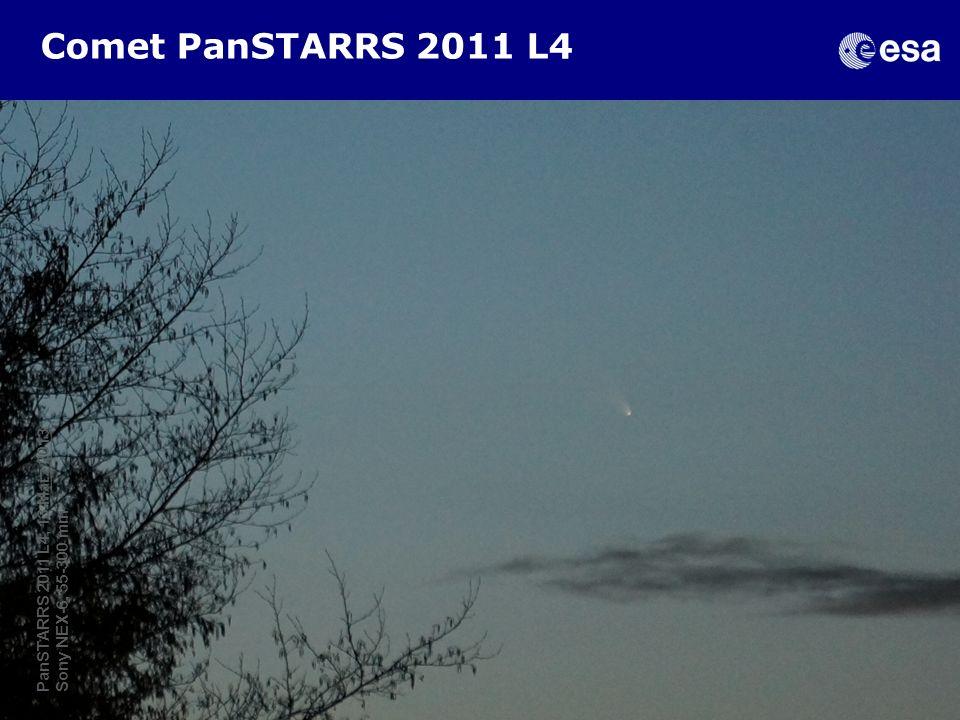 Comet PanSTARRS 2011 L4 PanSTARRS 2011 L4, 13 Marz 2013 Sony NEX-6, 55-300 mm.
