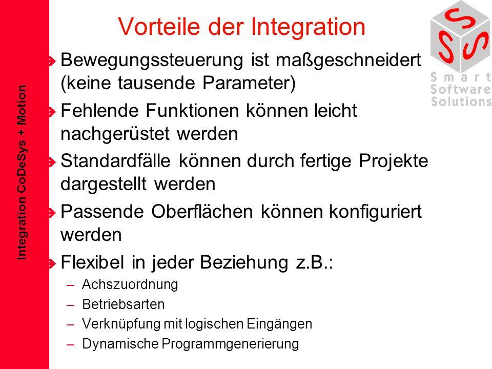 Vorteile der Integration