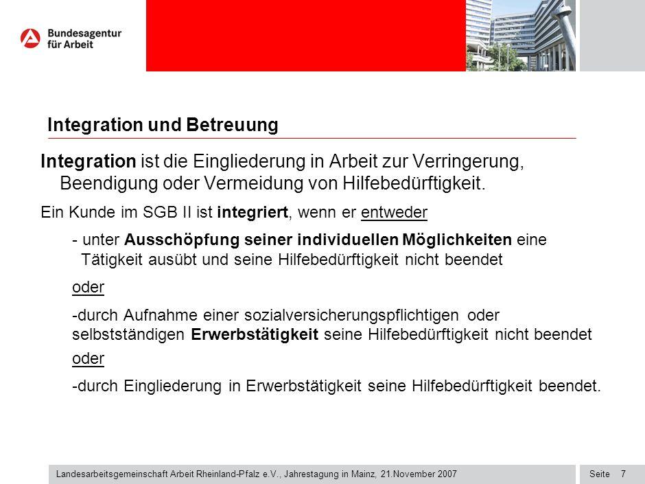 Integrationsplanung hat konkretes Ziel: