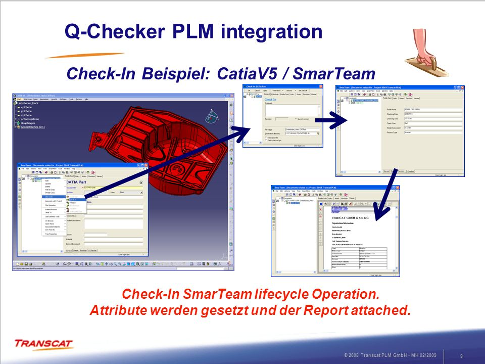Q-Checker PLM integration