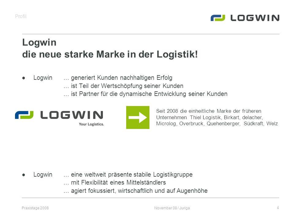 Logwin die neue starke Marke in der Logistik!