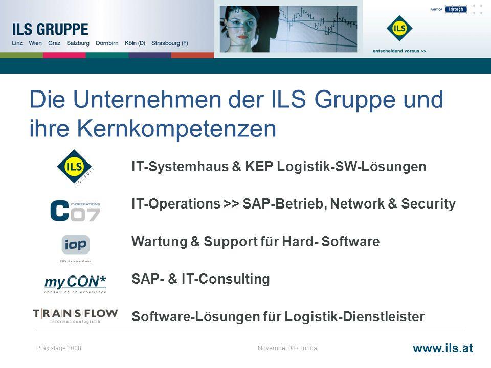 Die Unternehmen der ILS Gruppe und ihre Kernkompetenzen