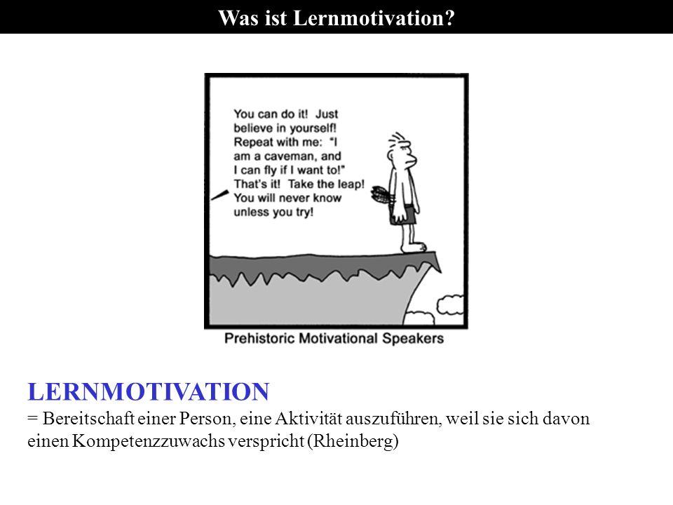 Was ist Lernmotivation