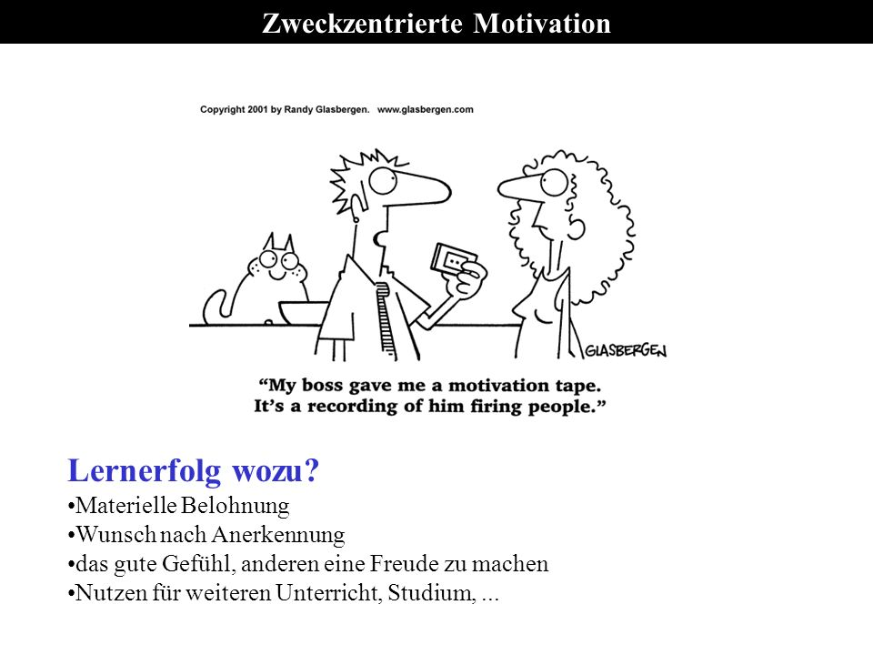 Zweckzentrierte Motivation