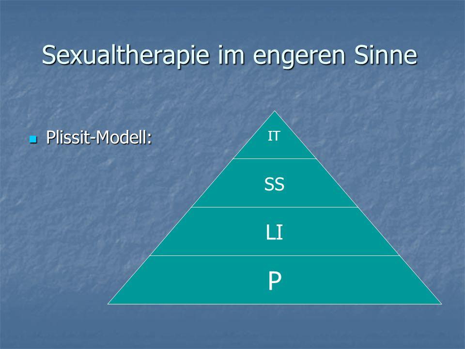 Sexualtherapie im engeren Sinne