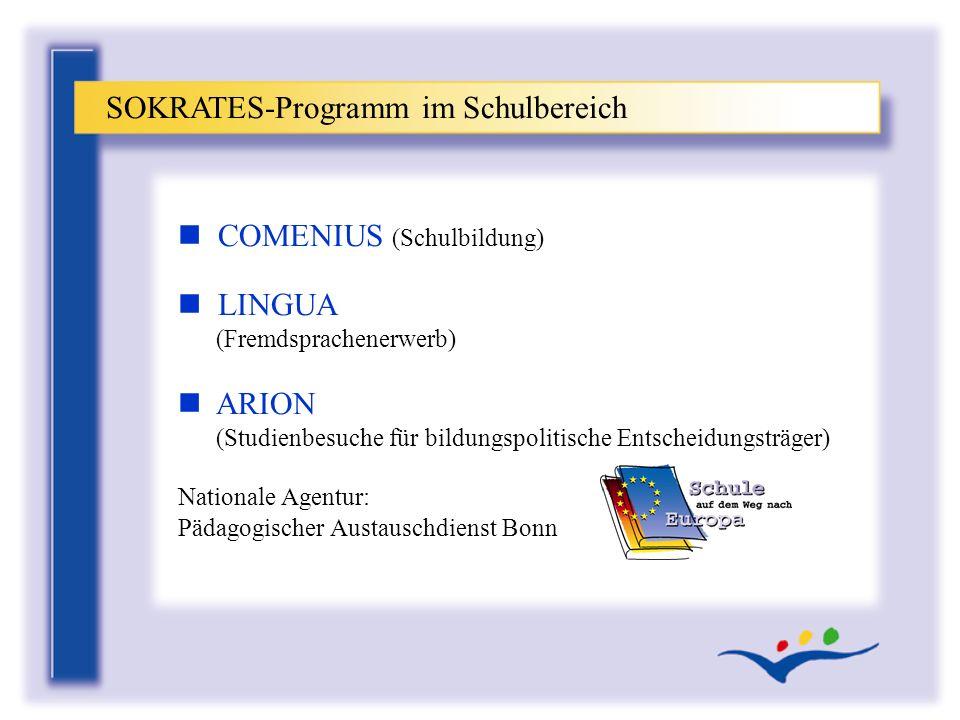 SOKRATES-Programm im Schulbereich